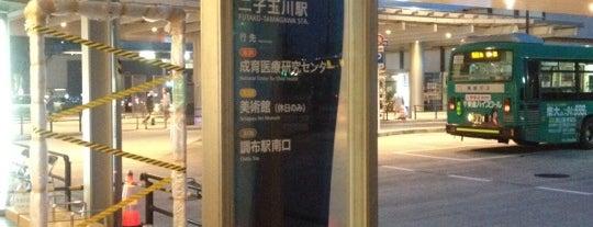 二子玉川駅 バスターミナル is one of 豆知識.