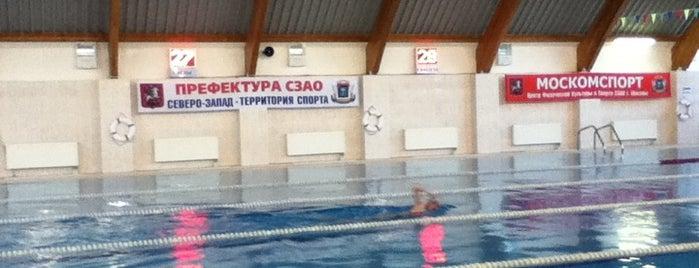 """Бассейн """"Акватория"""" is one of Спортивная Москва."""