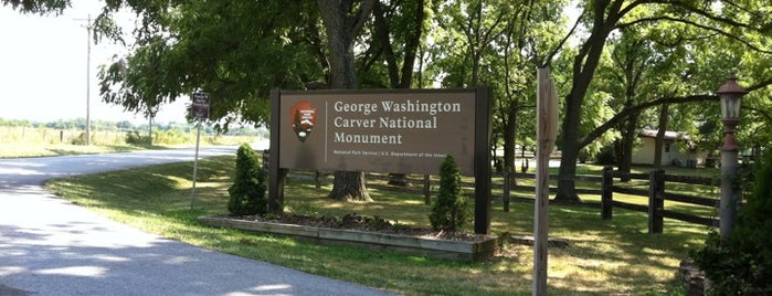 George Washington Carver National Monument is one of National Parks.