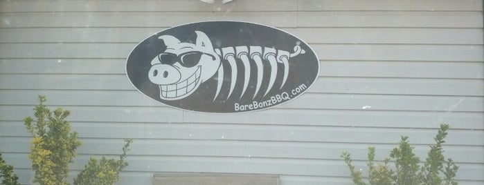 Bare Bonz BBQ is one of South Carolina Barbecue Trail - Part 1.