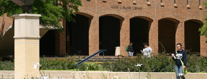 Blume Library is one of Campus tour.