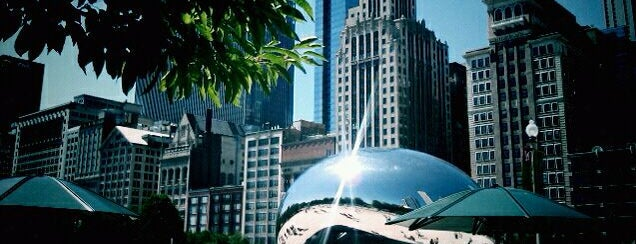 Millennium Park is one of The Crowe Footsteps.