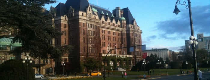 The Fairmont Empress Hotel is one of Canada Favorites.