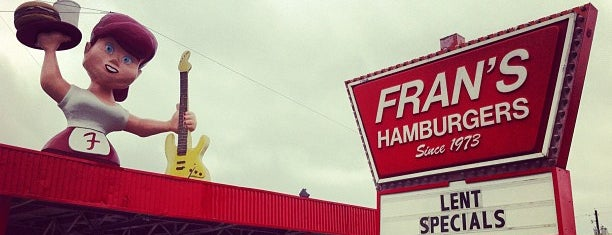 Fran's Hamburgers is one of Must-visit Food in Austin.