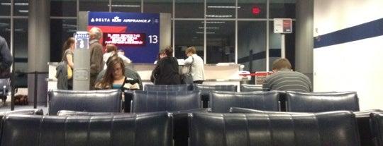 Gate B13 is one of Cincinnati Airport.