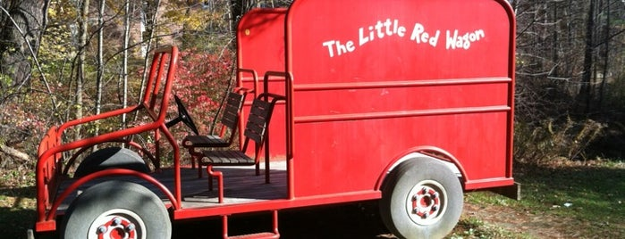 Little Red Wagon is one of UNH Landmarks.