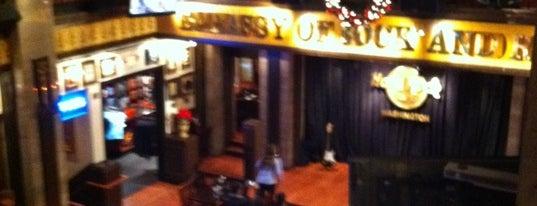 Hard Rock Cafe Washington DC is one of HARD ROCK CAFE'S.