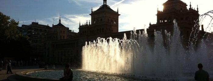 Plaza Zorrilla is one of Pucela imprescindible.