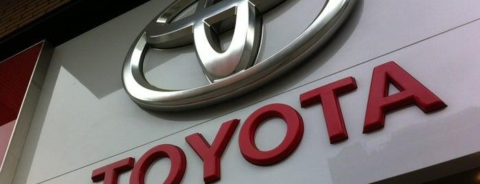 Mastertrac Toyota is one of Puntos de Venta y Taller de Grupo M Automoción.