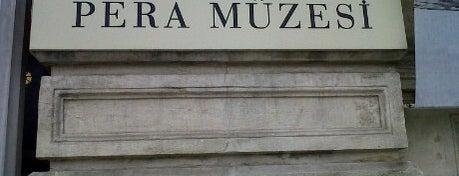 Pera Müzesi is one of İstanbul'daki Müzeler (Museums of Istanbul).
