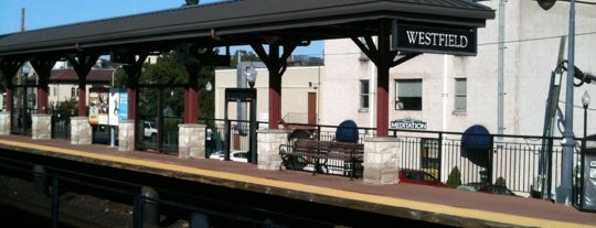 NJT- Westfield Station (RVL) is one of train.