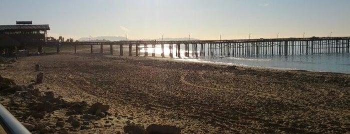 Ventura Pier is one of I spy with my 4sq eye.