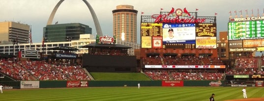Busch Stadium is one of St. Louis Obsessions.