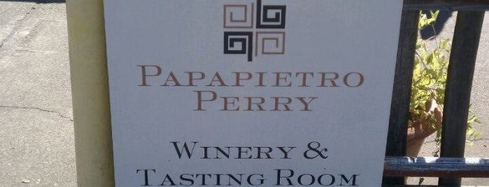 Papapietro Perry Winery is one of Best Pinot Noir Wineries in Sonoma.