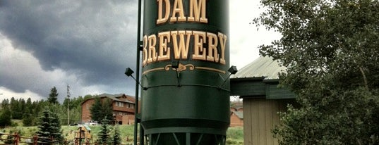 Dillon Dam Brewery is one of Best Bars in Colorado to watch NFL SUNDAY TICKET™.