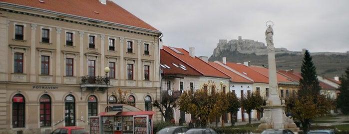 Spišské Podhradie is one of UNESCO Slovakia - kultúrne/prírodné pamiatky.