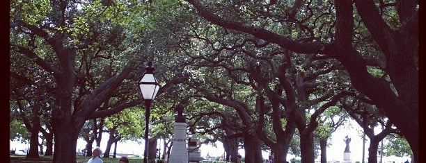 White Point Gardens is one of Favorites in Charleston.