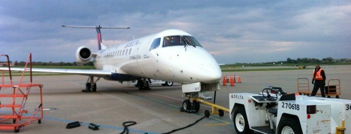 Gate B39 is one of Cincinnati Airport.