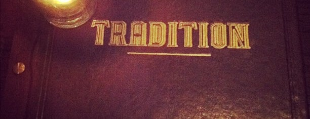 Tradition is one of Cocktail joints to try in SF.