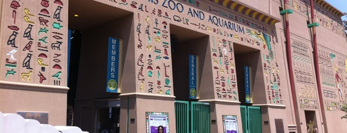 Memphis Zoo & Aquarium is one of Attractions to Visit.