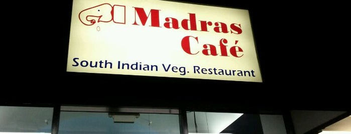 Madras Cafe is one of NeatMeatFreeEats.