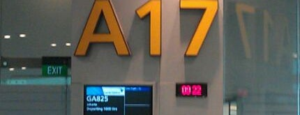 Gate A17 is one of SIN Airport Gates.