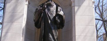 William Ellery Channing Statue is one of IWalked Boston's Public Art (Self-guided Tour).