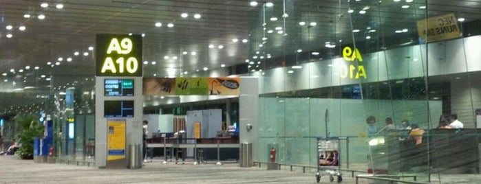 Gate A9 is one of SIN Airport Gates.