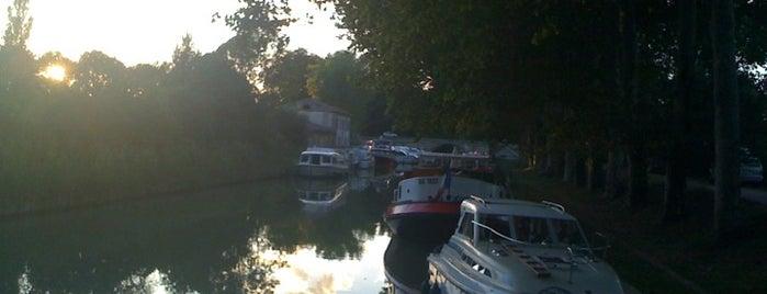 Port de Bram is one of Canal du Midi.