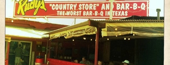 Rudy's Country Store & Bar-B-Q is one of Restaurants.