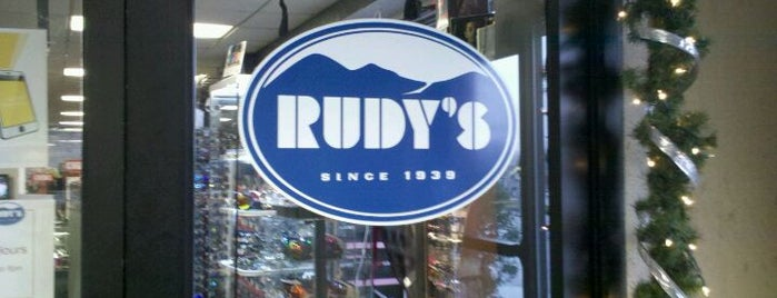 Rudy's is one of scavenger hunt.