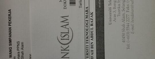 UNIT KEWANGAN ZON 18, BENDAHARI UiTM is one of owning..haha.