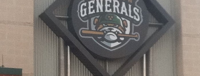 Pringles Park is one of MiLB Southern League.