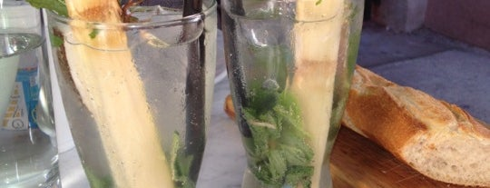 Mojitos Lounge is one of Espanola Way Restaurants.