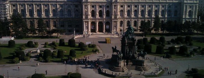 Naturhistorisches Museum is one of Vienna City Badge - Blue Danube.