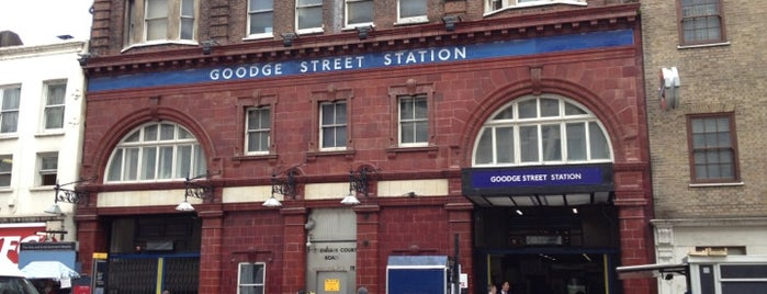 Goodge Street London Underground Station is one of Zone 1 Tube Challenge.
