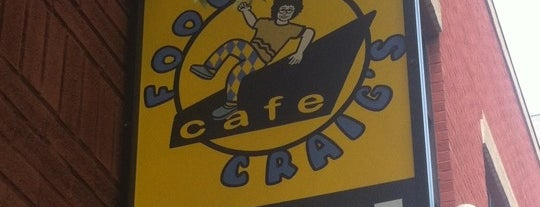 Foolish Craig's Cafe is one of Triple D Checklist.