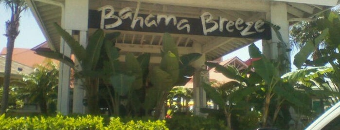 Bahama Breeze is one of Lisa's List of Tampa.