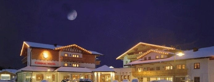 Cordial Golf And Wellness Hotel Reith bei Kitzbuhel is one of Hotels I Enjoyed Staying At.