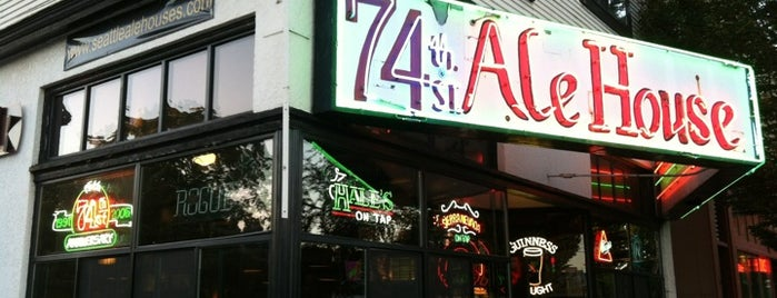 74th Street Ale House is one of Happy Hour in Seattle.