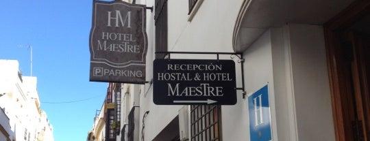 Hotel Minotel Maestre is one of Donde comer y dormir en cordoba.