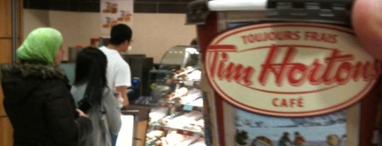 Tim Hortons is one of Vancouver/ Canadá.
