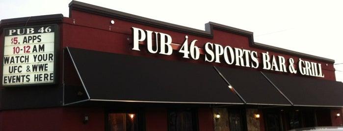 Pub 46 Sports Bar & Grill is one of Nightlife.