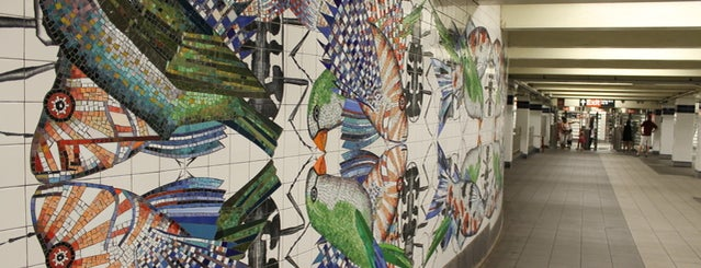 MetroTech Commons is one of Subway Art in NYC.