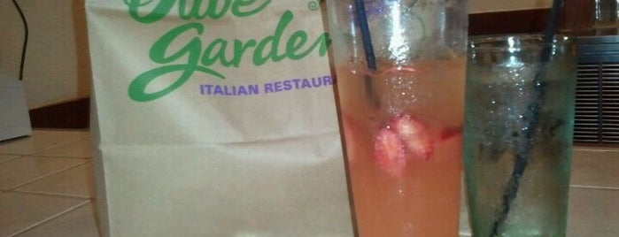 Olive Garden is one of Work Lunch Locations.