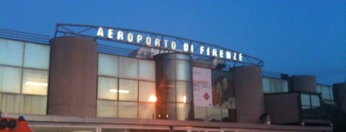 """Aeroporto di Firenze """"Amerigo Vespucci"""" (FLR) is one of Firenze (Florence)."""