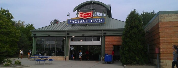Klement's Sausage Haus is one of A Traveler's Guide to Milwaukee.