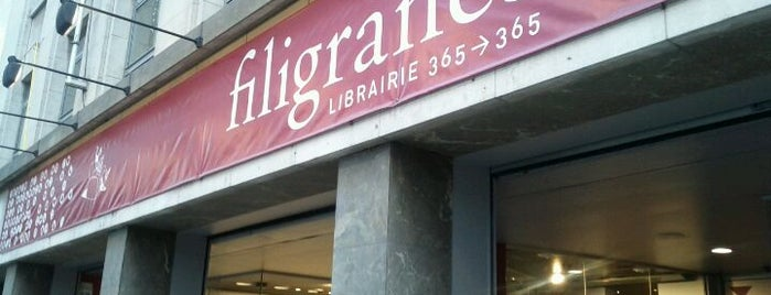 Filigranes is one of Guide to Brussels's best spots.