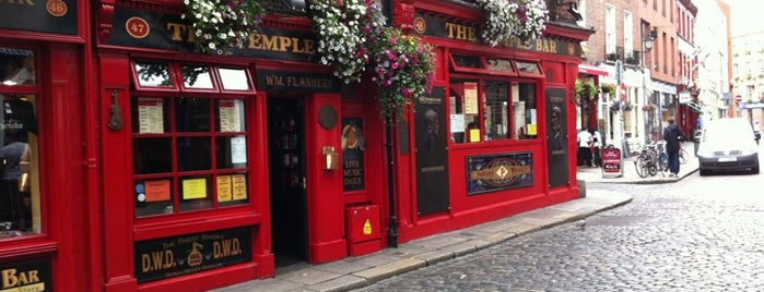 Temple Bar Square is one of Dublin Tourist Guide.