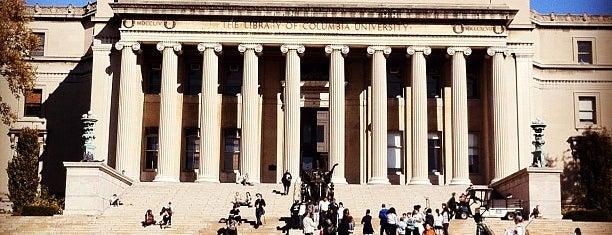 Columbia University is one of Buildings.